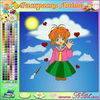 "Color the Anime online painting games to play for fun .   www.s3dk.com  ""Kids painting games"""
