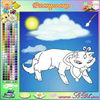 "Color the Kat Free online painting games to play for fun .   www.s3dk.com  ""Kids painting games"""