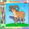 "Color the Bighorn online painting games to play for fun .   www.s3dk.com  ""Kids painting games"""